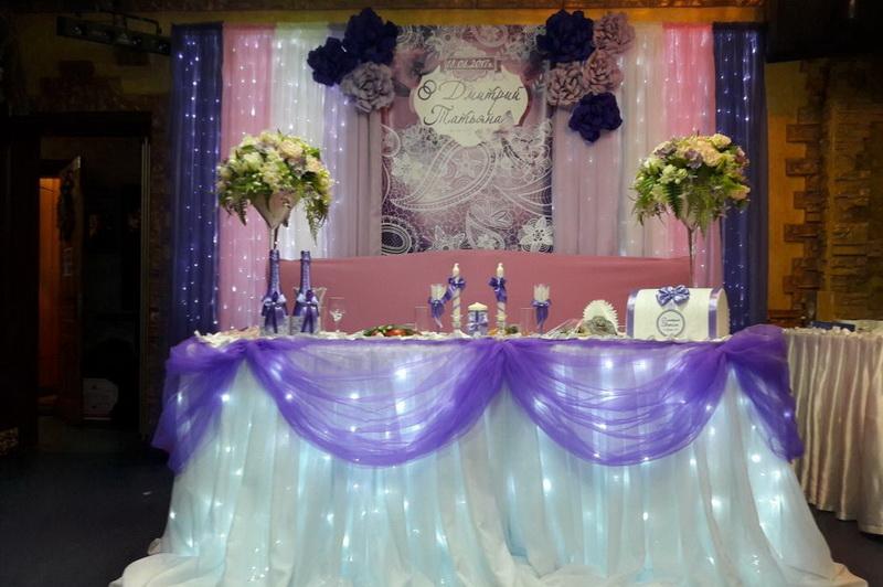 Банкетный зал на свадьбу