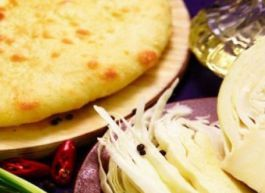 Осетинский пирог с капустой и яйцом «КабушкаДжын»