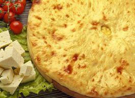 Осетинский пирог с козьим сыром «Уалибах»