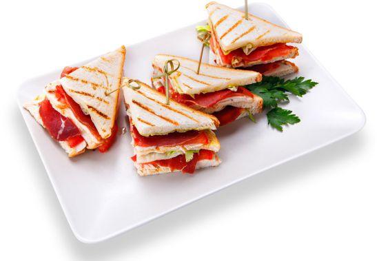 Мини сэндвич мясо
