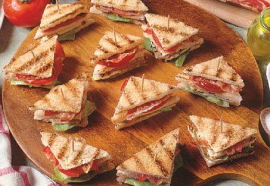 Мини сэндвич курица