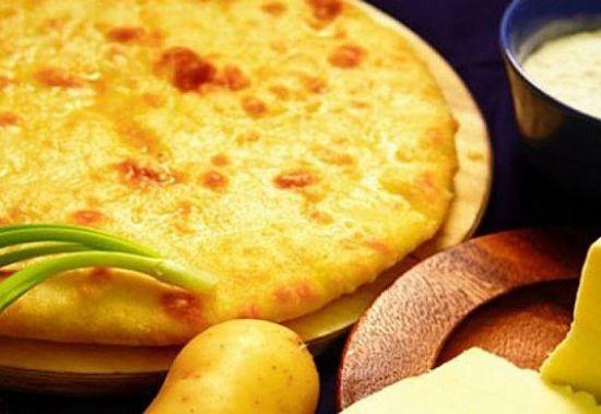 Осетинский пирог с картофелем «КартофДжын»
