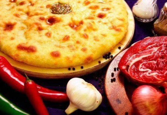 Осетинский пирог «Фыджын»