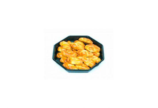 Фуршетные пирожки с капустой и яйцом