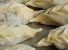 Манты по Ташкентски (баранина, курдюк, лук, зелень)